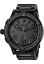 Nixon Men's '51-30 SW, Vader' Quartz Stainless Steel Casual Watch, Color:Black (Model: A172SW-2244-00)