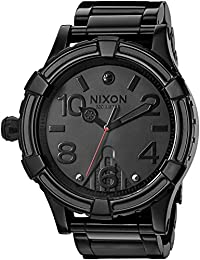 Men's '51-30 SW, Vader' Quartz Stainless Steel Casual Watch, Color:Black (Model: A172SW-2244-00)