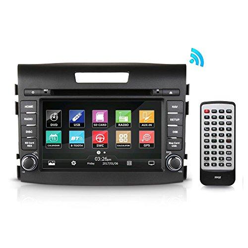 2012-2016 Honda CRV Replacement Stereo Receiver, GPS Navigation, Bluetooth Wireless, CD/DVD Player, 7'' HD Touchscreen Display, AM/FM Radio, Double DIN (PHOCRV12)