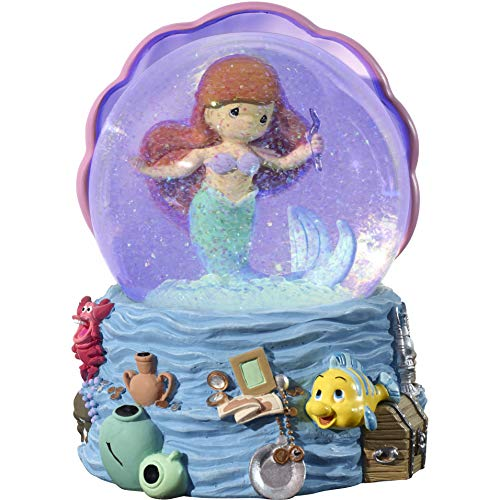 Precious Moments Disney Showcase Collection The Little Mermaid Snow Globe Musical 183471 WATERBALL One Size Multi