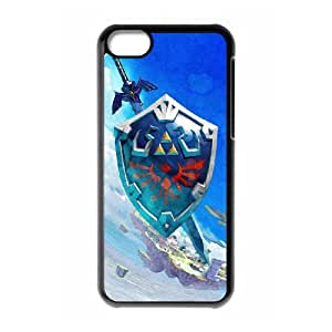 iPhone 5C Phone Case With The Legend of Zelda Images Appearance HV13694