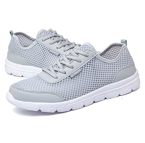 HangFan Unisex Women & Men Breathable Mesh Quick Drying Water Shoes Outdoor Athletic Walking Sneakers wNRY4G9