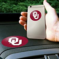 Fan Mats 11242 OU - University of Oklahoma Sooners Get-a-Grip Anti-Slip Dashboard Grips