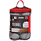Franklin Sports Soft-Strike Teeball - Official Size and Weight Approved for Teeball - Hollow Core Technology for Safety - MLB Teeball Ball for Indoor/Outdoor Use