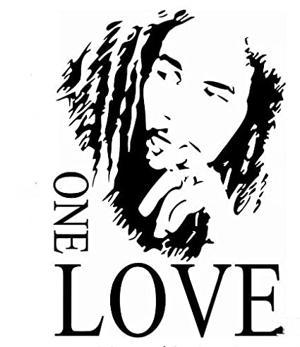 Amazon Com Bob Marley One Love Living Room Removable Wall