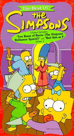 The Best of The Simpsons, Vol. 4 - Tree House Horror (The Simpsons Halloween Special)/ Bart Gets an F [VHS] for $<!--$14.99-->