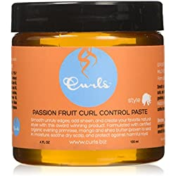 Curls Paste Passion Fruit Cream, 4 oz