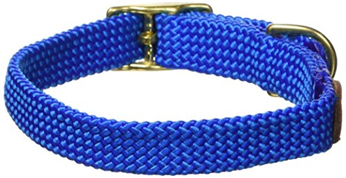 Mendota Products ME31402 Pet Double Braid Dog Collar, 9/16 by 14