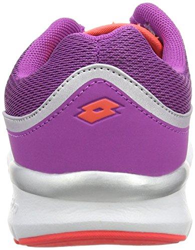 Lotto ARIANE IV AMF W - Zapatillas de running Mujer Púrpura