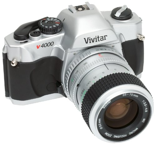 Amazon.com : Vivitar V-4000 35mm SLR Camera Kit w/ 35-70mm Lens ...