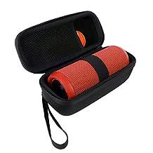 for JBL Flip 4 JBL Flip 3 Bluetooth Portable Stereo Speaker Hard Case Bag by VIVENS