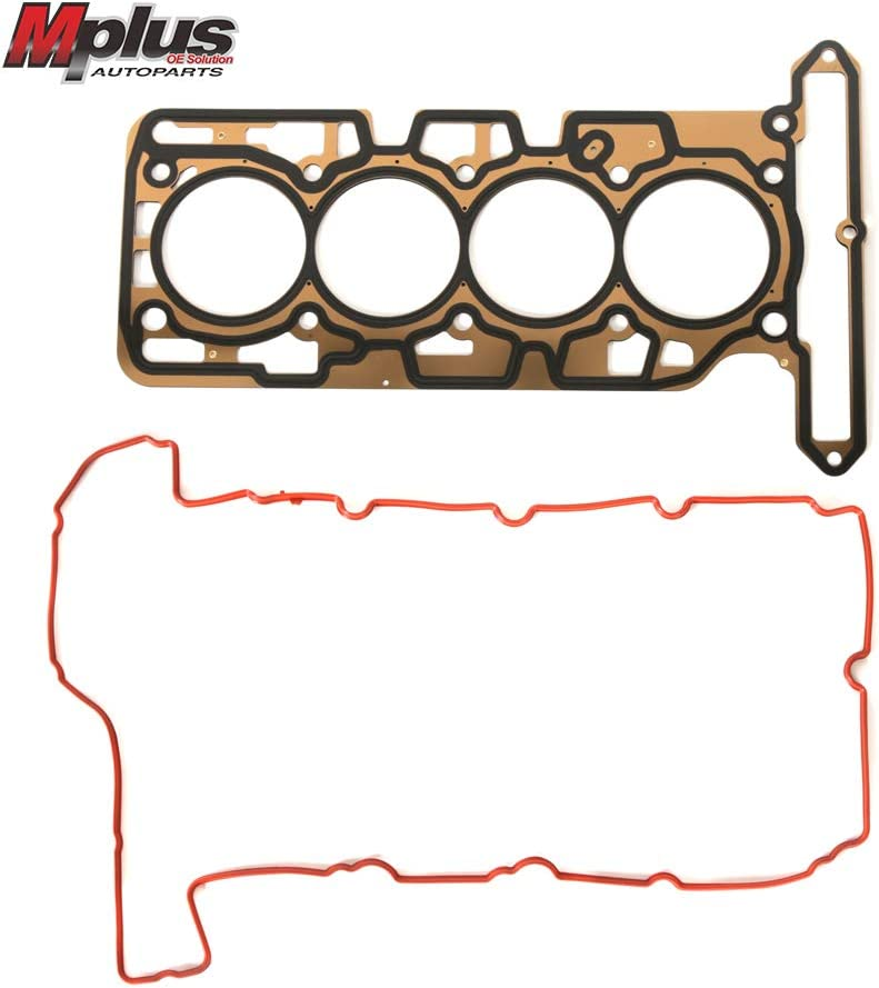 Mplus HS26389PT MLS Head Gasket Kit W//Head Bolts Replacement 2007-2012 for Chevrolet Colorado丨2007-2012 for GMC Canyon丨2007-2008 for Isuzu i-290 2.9L 2921CC//178CID L4 DOHC 16V