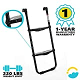 SkyBound Trampoline Ladder - 2 Steps Wide-Step