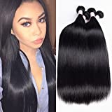 4 Bundles Peruvian Straight Hair 26'' 28'' 30'' 30'' 8A Mink Peruvian Straight Virgin Hair Weave Bundles Natural Color 100% Unprocessed Human Hair Peruvian Virgin Remy Hair Weft 400g