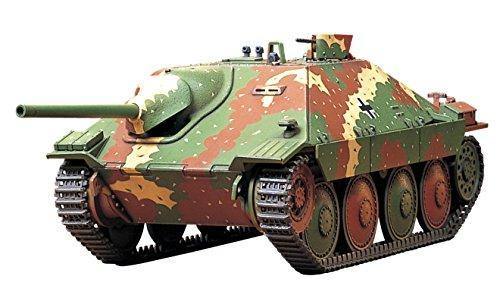 Tamiya Military Miniatures Model - German Tank Destroyer Hetzer Mid Production 1/48 Military Miniature Series No.11