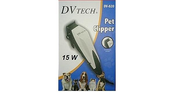 JPWOnline - Cortapelos electrico para mascotas DVTech DV-820 ...