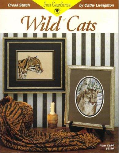 Wild Cats : Cross Stitch Charts from Just CrossStitch (Item #194)