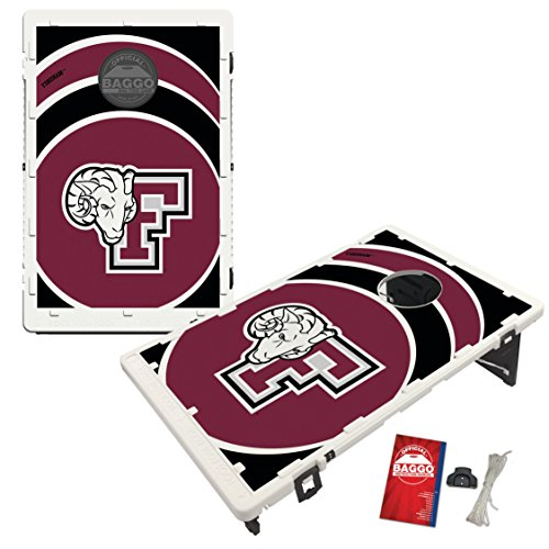 Fordham University Rams Baggo Bean Bag Toss Cornhole Game Vortex Design by Victory Tailgate