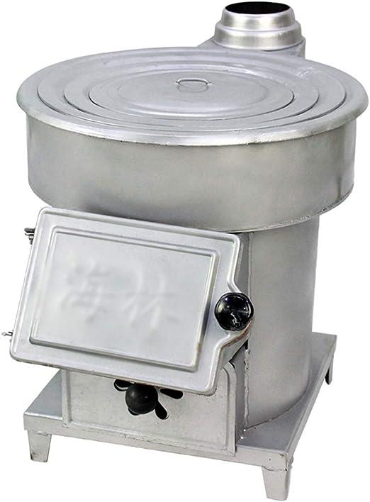 XLOO Calentador Interior y Exterior,Estufa de leña para Campamento, Juego de Estufas de Caja, Placa de Acero Gruesa, Estructura de Doble Capa, Adecuado para calefacción Interior y Exterior, Cocina d: Amazon.es: Hogar