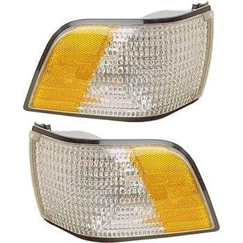 1991-1996 Buick Century Corner Park Light Turn Signal Marker Lamp Set Pair Right Passenger And Left Driver Side (1991 91 1992 92 1993 93 1994 94 1995 95 ...