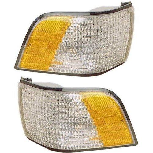 1991-1996 Buick Century Corner Park Light Turn Signal Marker Lamp Set Pair Right Passenger And Left Driver Side (1991 91 1992 92 1993 93 1994 94 1995 95 1996 -