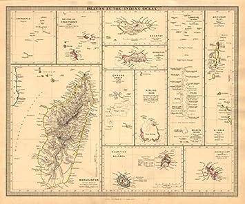 Amazoncom  INDIAN OCEAN ISLANDS Madagascar Seychelles Maldives