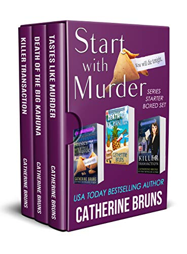 Start With Murder: Series Starter Boxed Set by [Bruns, Catherine]