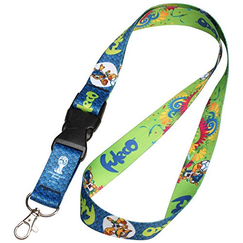WinCraft World Cup 2014 Lanyard with Detachable Buckle