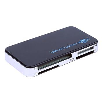 RGBS SuperSpeed USB 3.0 All-in-1 Multi lector de tarjetas de ...
