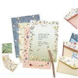 32 Cute Kawaii Cartoon Design Writing Stationery Paper with 16 Envelope, C062