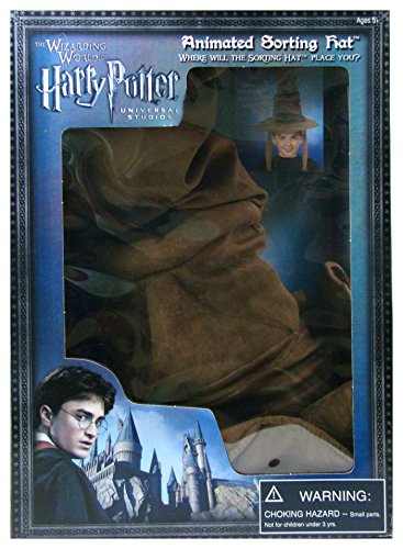 [Wizarding World Harry Potter Talking Animated Hogwarts House Sorting Hat Exclusive by Universal] (Sorting Hat From Harry Potter)