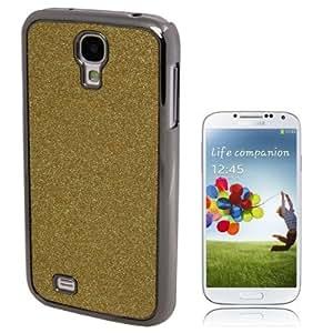 Fashion Shimmering Powder Plastic Case for Samsung Galaxy S IV / i9500 (Golden)