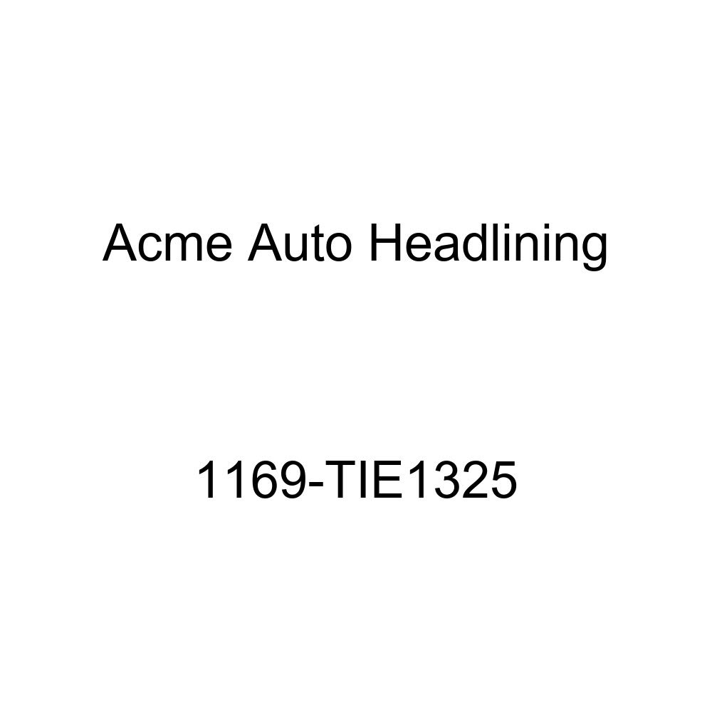 1956 Buick Century /& Special 4 Door Hardtop with Chrome Bows 7 Bows Acme Auto Headlining 1169-TIE1325 Green Replacement Headliner