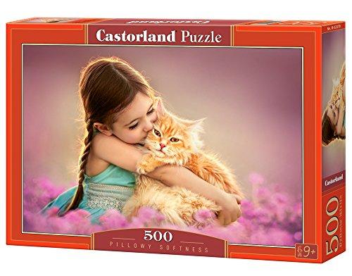 Castorland - B-52370 - Puzzle - Chat duveteux - 500 Pièces