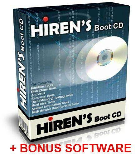 us Trojan Removal Boot CD Hirens 2013 Data Recovery + BONUS ()