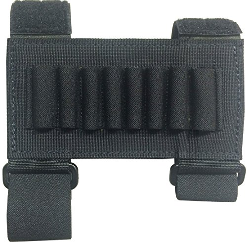 Fire Force Forearm Rifle Cartridge Holder Made in USA (Black) ()
