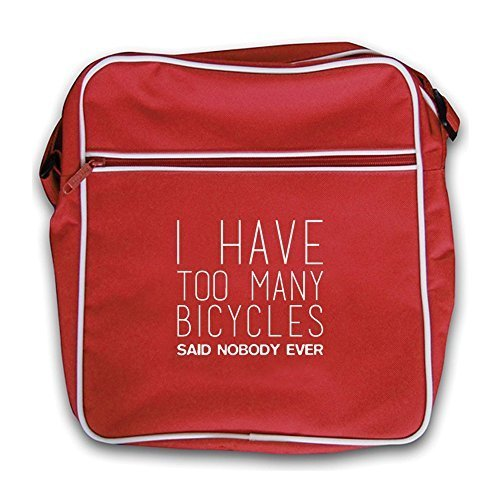 Ever Many Too I Retro Bag Red Nobody Have Flight Bicycles Dressdown Said qw41U