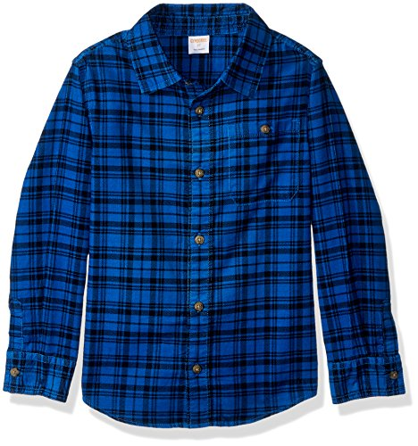 Gymboree Boys Toddler Long Sleeve Plaid Corduroy Shirt