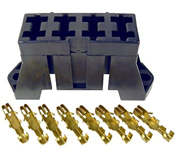 pico 0910pt 4 slot fuse block for ato and atc blade fuses includes pico 0910pt 4 slot fuse block for ato and atc blade fuses includes terminals