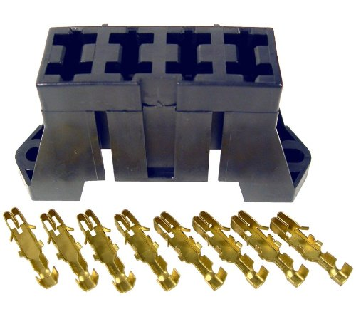Pico 0910PT 4 Slot Fuse Block for ATO and ATC Blade Fuses Includes Terminals