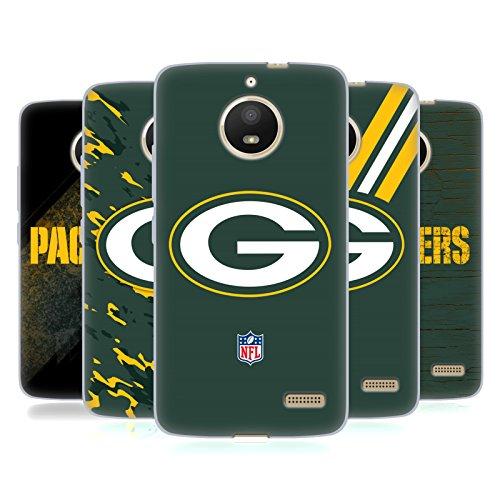Official NFL Green Bay Packers Logo Soft Gel Case for Motorola Moto E4