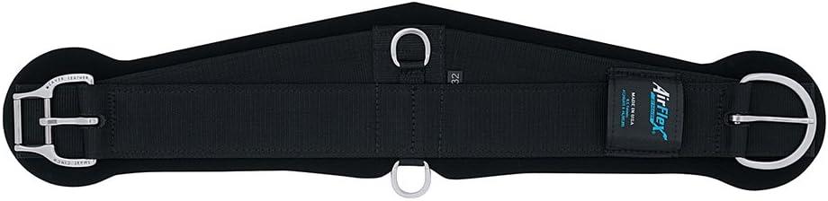 Weaver Leather AirFlex Roper Cinch with Roll Snug Buckle