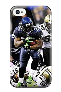 New Snap-on JenniferJune Skin Case Cover Compatible With Iphone 4/4s- Seattleeahawks (50)
