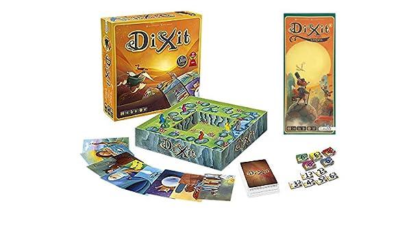 Outletdelocio. Pack Juego de mesa Dixit Clasico + expansion Dixit 4: Origins. Edicion Española: Amazon.es: Juguetes y juegos