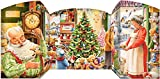 Santa's Shop Free Standing Advent Calendar (Countdown to Christmas)