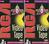 RCA T-160 Standard Grade Video Tape TWO PACK
