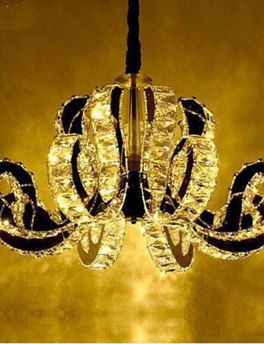 Modern LED Ceiling lampLED Crystal Pendant Lamp The Tophams Hotel Restaurant Lamp , white-110-120v (Crystal Light Ceiling Cover)