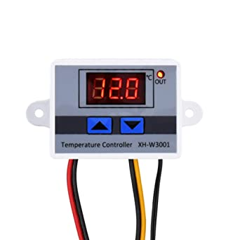 1PCS Digital LED Temperature Controller 10A Thermostat Control Switch Probe