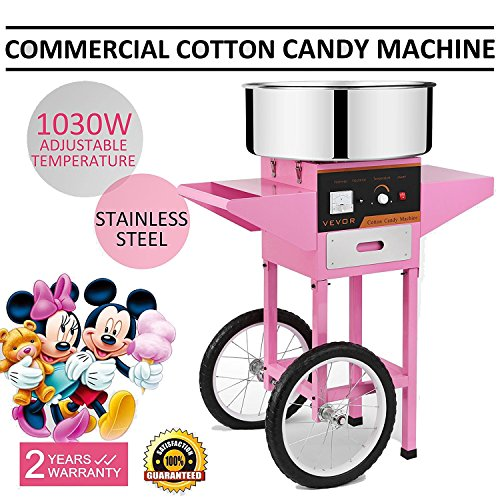 Forkwin Cotton Candy Machine (With Cart) by Forkwin