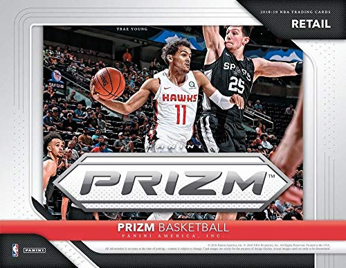 (2018-19 Panini Prizm Basketball Blaster Box (6 Packs/4 Cards: 1 Autograph Or Memorabilia, 6 Inserts))